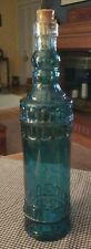 ☆☆Decorative Blue Glass Bottle with cork☆☆