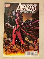 AVENGERS: THE CHILDREN'S CRUSADE #7 JIM CHEUNG COVER ART SCARLET WITCH