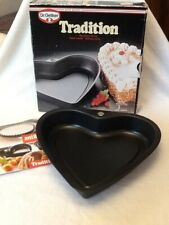 Dr. Oetker Heart Shaped Cake Tin. 24cm New Boxed.
