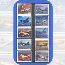 2005  ADVANCES in AVIATION  Complete Set of 10  Individual Stamps  Cat #3916-25