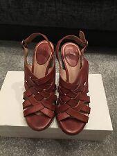 """Beautiful FRYE """"Corrina"""", wedges, sandals, similar to ASH, USA size 7"""