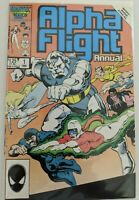 Alpha Flight GIANT- SIZED ANNUAL #1 - Marvel Comics