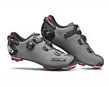 SIDI Drako 2 SRS Matt MTB Shoes - Matt Grey/Black [Size: 38~47 EUR]
