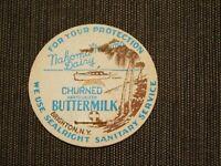 VINTAGE OLD MILK BOTTLE CAP NAKOMA FARMS DAIRY BRIGHTON NY BUTTERMILK