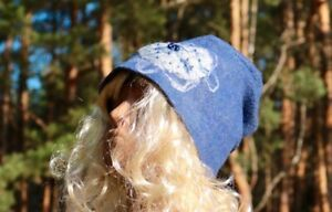 Handmade wet felted hat,wool hat, merino wool,soft and comfortable hat