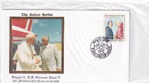 Mauritius 688 PAPST JOHANNES PAUL II POPE JOHN PAUL II RELIGION BRIEF COVER