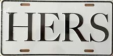 HER'S...Embossed License Plate (LP-1109-229)