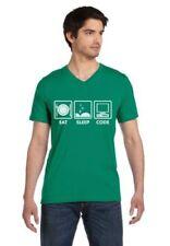 Short Sleeve 100% Cotton Geek & Nerd T-Shirts for Men
