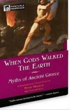 When Gods Walked The Earth: Myths Of Ancient Greece AUDIO BOOK CD Peter Meineck