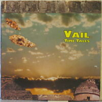 VAIL Time Tales LP U.S. Prog Rock w/Steve Vail – Private Press on System Records