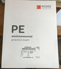 NCEES PE Environmental Practice Exam - Like New