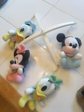 Disney Baby Mickey Minnie Donald Mobile Crib Toy  Vintage!! VGUC! 🍼