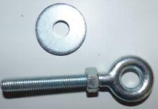 10Stk Ösenschraube Augbolzen Augenschraube Ringschraube  U-Scheibe verzinkt M12