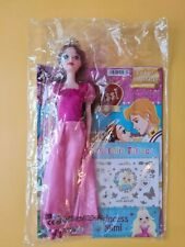 Sissi Die Young Empress - Doll + Booklet & Metallic-Tattoos