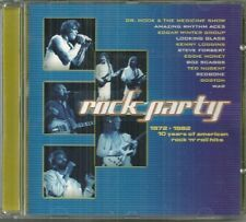 ROCK PARTY 1972-1982 10 YEARS OF AMERICAN ROCK 'N' ROLL HITS; new but no shrink