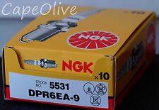 10 PCS – NGK 5531  Nickel Spark Plugs  (DPR6EA-9)
