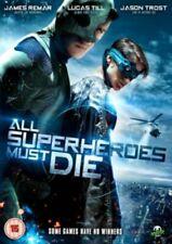 All Superheroes Must Die DVD New & Sealed
