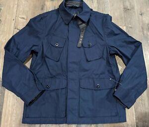 Sample Polo Golf Ralph Lauren Jacket Large? Autographed Leather Trim Navy