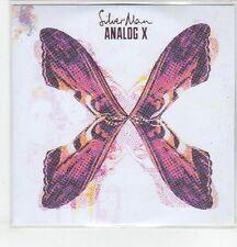 (ER856) Silver Man, Analog X - DJ CD