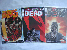 THE WALKING DEAD #27, #33, #43 THE GOVERNOR PACK, PERUVIAN VARIANTS SP, UNOPENED