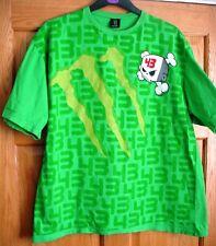MONSTER ENERGY 43 T Shirt SZ XXL GREEN COTTON