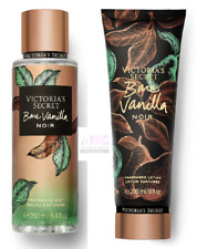 Victoria's Secret New! Noir BARE VANILLA Fragrance Mist & Lotion Set