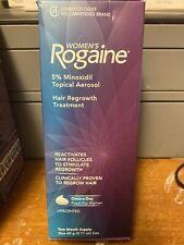 Women's ROGAINE Hair Regrowth Treatment Foam 2 Month Supply.       Exp 6/21