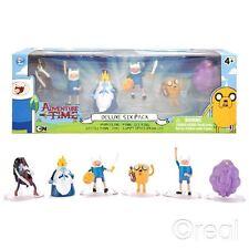 """Nouveau Adventure Time Deluxe 6 action figure pack 2"""" Finn Jake Marceline officiel"""