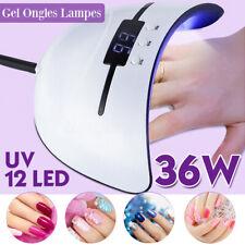 36W UV LED Nail Lamp Gel Nail Polish Dryer Light Fast Curing Auto-Timer Sensor