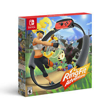 NEW Ring Fit Adventure for Nintendo Switch Controller Ring-Con Leg Strap + Game