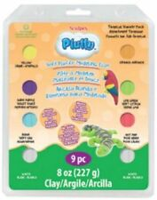Sculpey Pluffy Clay 8oz 9pc kit-Tropical - LOWEST COST IN UK - Fimo, Polyform