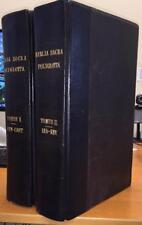 Two Folio Vols. Sam.Bagster 'Biblia Sacra Polyglotta'  BINDINGS Scripture/Bible