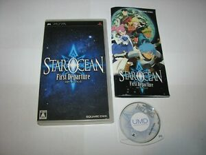 Star Ocean First Departure Playstation Portable PSP Japan import US Seller (B)