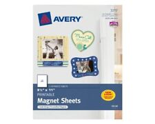 """Avery Personal Creations Printable Magnetic Sheet - Letter - 8.50"""" X 11"""" - Matte"""