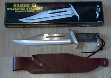 RAMBO III SYLVESTER STALLONE SIGNATURE EDITION BOWIE KNIFE knives daggers