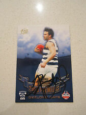GEELONG CATS - JIMMY BARTEL 2009 HAND SIGNED PREMIERS PREMIERSHIP CARD