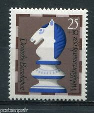 ALLEMAGNE FEDERALE, 1972, timbre 592, ECHECS, CAVALIER, neuf**