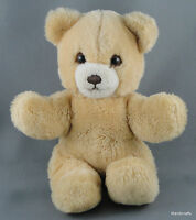 Steiff Kiddi Teddy Bear Blonde Woven Fur Plush Squeaker 20cm 8in 1989-90 Vintage