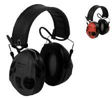 3M PELTOR SportTac Gehörschutz Faltbügel Umgebungshören schwarz & rot  STAC-RD