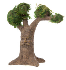 Tree w Carved Face Moss-Covered Treetops Da 30023380 Miniature Garden