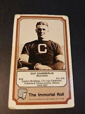 1975 FLEER TEAM CLOTH PATCH STICKERS THE IMMORTAL ROLL GUY CHAMBERLIN FAIR