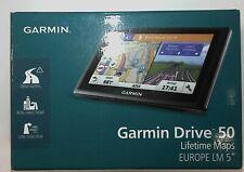 """Garmin Drive Smart 50 LM Navigatore 5.0"""" EUROPA 45 PAESI AGGIORNAMENTO A VITA"""