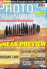 Photo Technique magazine with Canon Nikon Minolta  APS SLR   test     July  1998