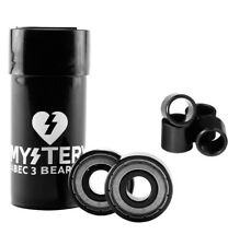 Mystery Abec 3 Skateboard Bearings 8-pack (1-set) With 4 Spacers