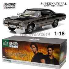 Greenlight 19024 1967 Chevrolet Impala Supernatural Black Chrome Edition NEW!