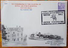 RAF Nocton Hall Closure Lancaster Association Cover Flown on PA474  L5