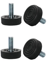 M8 Metric Thread Adjustable Table Feet - Fixed (Set of 4 Feet)