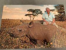 David Attenborough Signed Photo 12x8 Planet Earth
