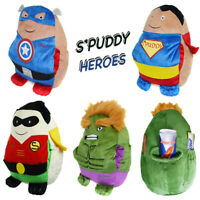 Spuddy Novelty Superheroes Comic Couch Potato Remote Snack Holder Pocket Cushion