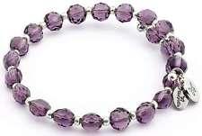 Chrysalis Wrap Rainbow Purple Bangle Bracelet